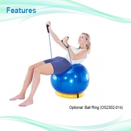 Quality Anti-Burst Gym Ball