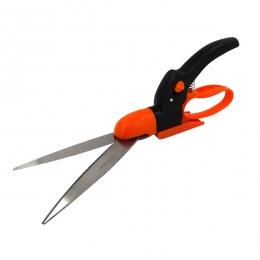 360 Degree  Swivel Stainless Steel Grass Shears  (Straight Blade