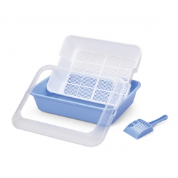 Sifting-Tray Cat Litter Pan