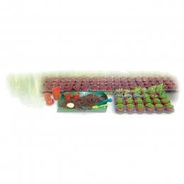 Garden Grow Kit with 24 Pots