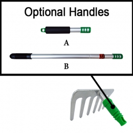 6 Prong Short Handle Rake