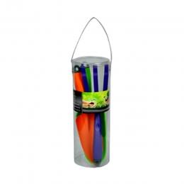 3-Piece Plastic Garden Tool Set
