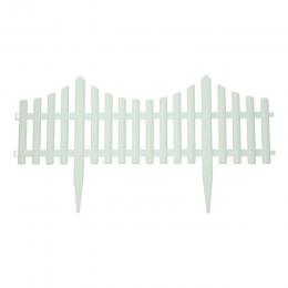 Flexible White Picket Fence