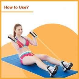 Adjustable TPR Fitness Tube