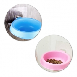 Universal Sticker Equipped Pet Food Bowl