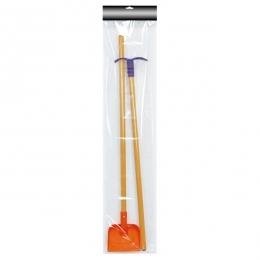 2pcs Kids' Garden Tools (Shovel & Hoe)